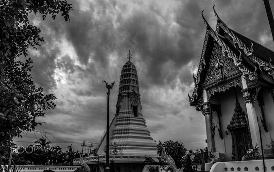 Temple in Thailand - Temple in thailand which in pakred