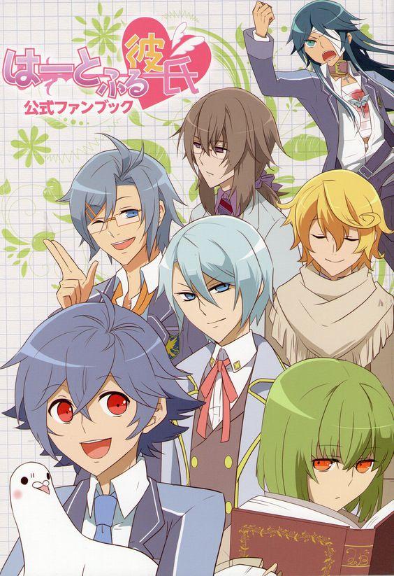 good dating sims anime