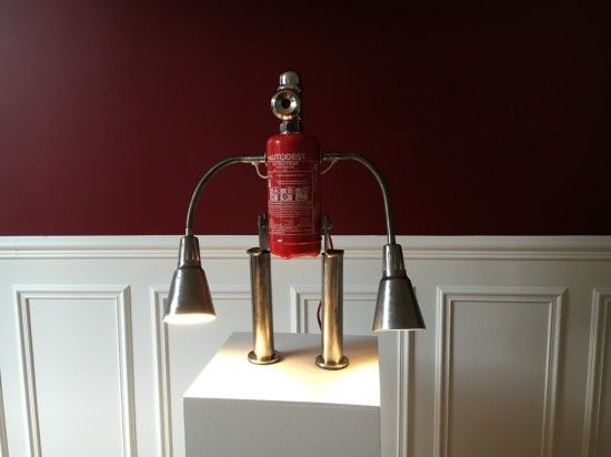 Fire + Water: An Upcycled Robot
