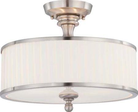 Nuvo Candice Semi-Flush light 60-4737