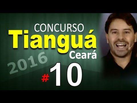 Concurso Tianguá CE 2016 Ceará Informática # 10 - Cargos nível médio com...