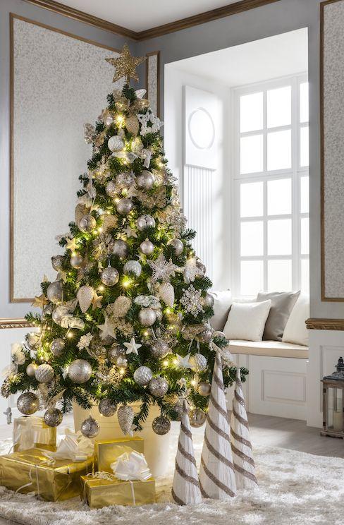 Mezcla de colores y tonos champagne, blanco lana y dorado envejecido, matizados esta temporada por la llegada de la tonalidad crema - Leroy Merlin