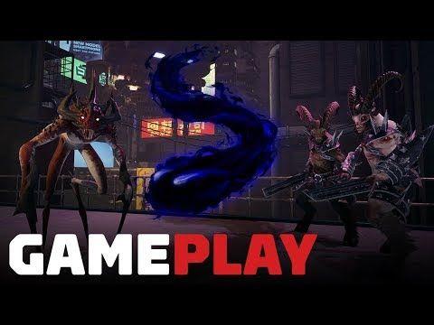 17 Minutes Of Breach Veil Demon Gameplay Gameplay Video Games Pc Demon