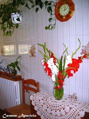 Pon flores en tu casa