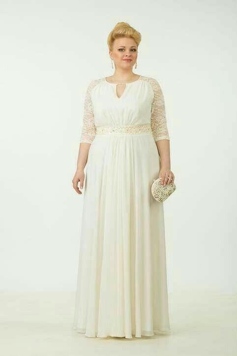 Pin On Vestidos Blancos Para Gorditas