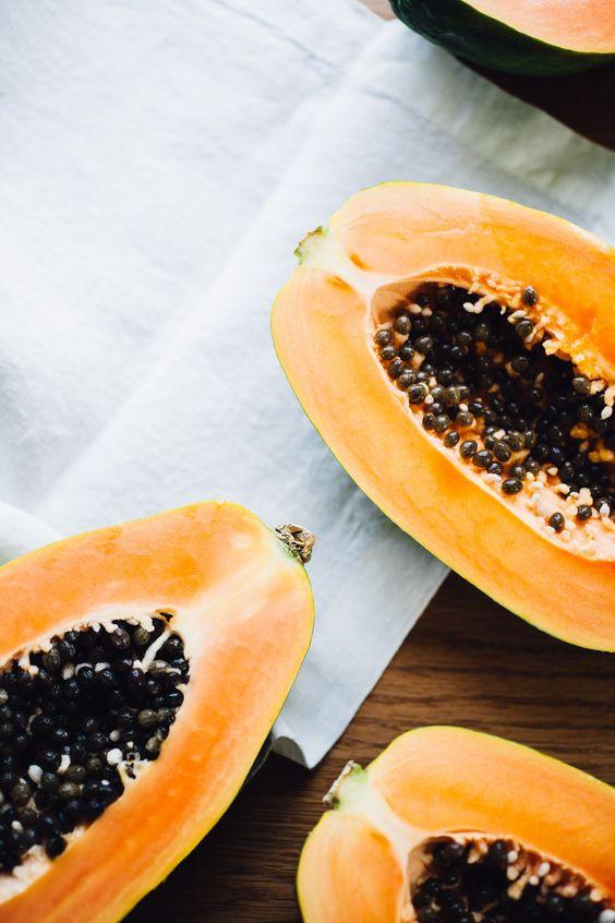 Papaya And Orange