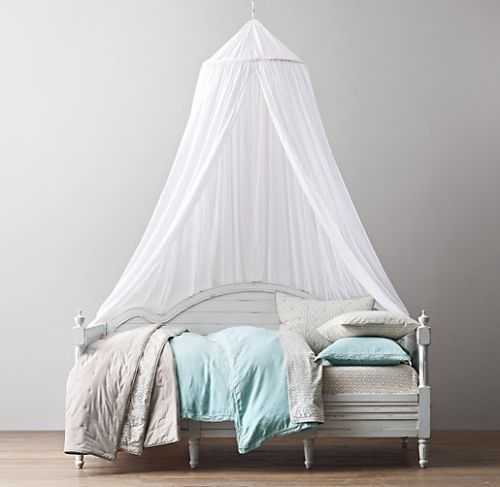 Bed Bath and Beyond Sheer Cotton Bed Canopy in White | payday ...