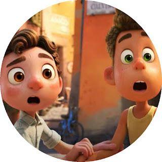 Kits Imprimibles Gratis Toppers Luca En 2021 Peliculas De Animacion Peliculas De Pixar Cosas De Disney