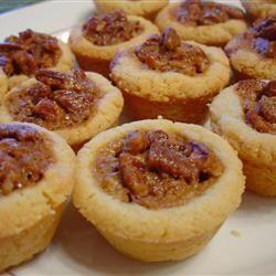 Mini Tartaletas de Nuez