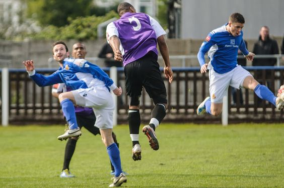 Action from Wealdstone v AFC Hornchurch