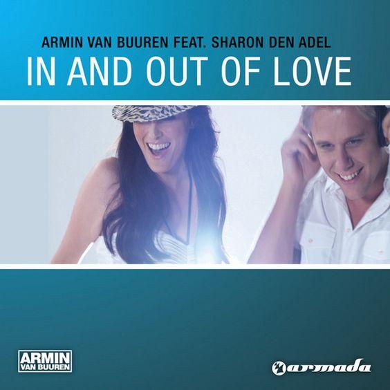 Armin van Buuren, Sharon den Adel – In and Out of Love (single cover art)
