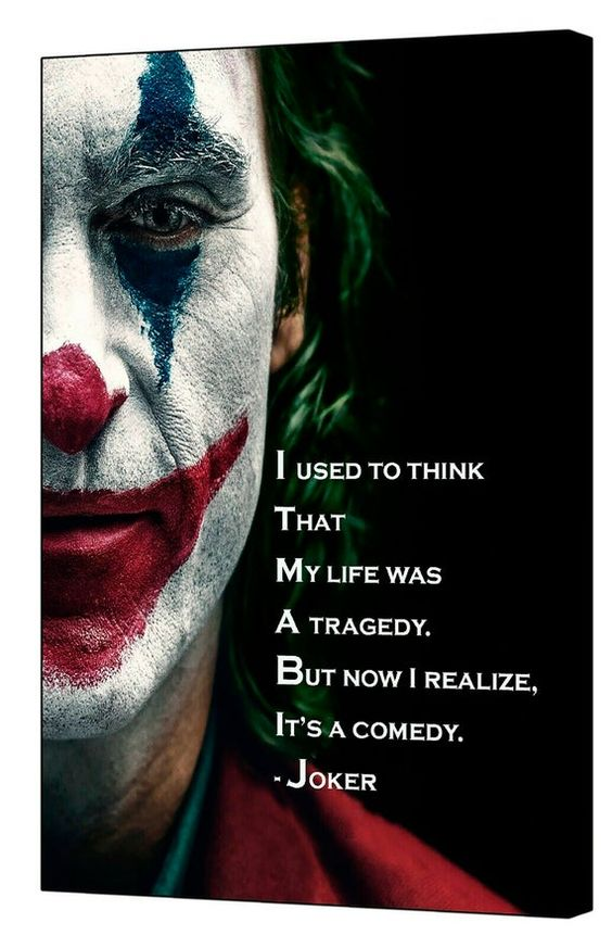 Joker Joaquin Phoenix 2019 Movie Quote Picture Print On Framed Etsy In 2021 Joker Full Movie Joaquin Phoenix Joker