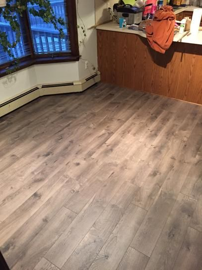 Home colors and the o 39 jays on pinterest for Gray pergo flooring
