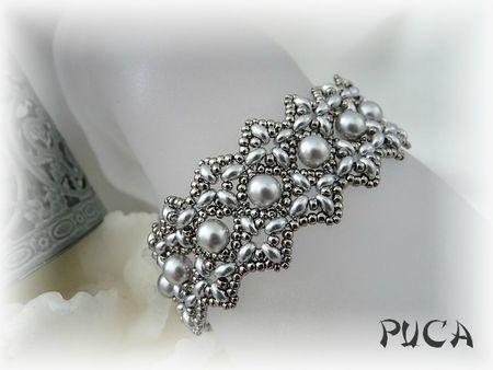 "Bracelet "" Victoria"" - Les perles de PUCA"