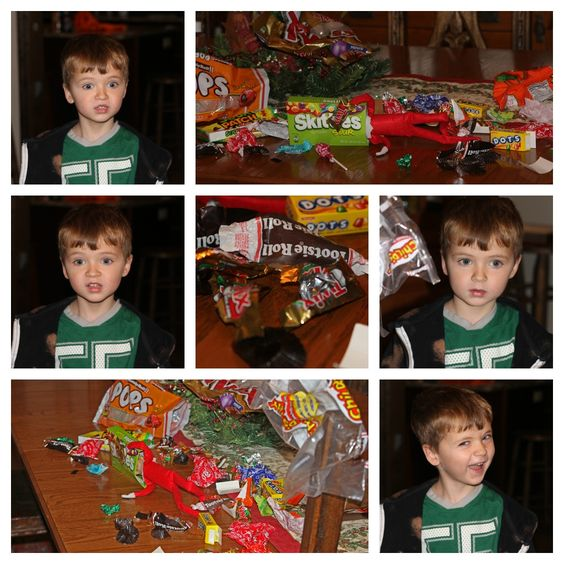 Elf on the Shelf - Candy Thief!