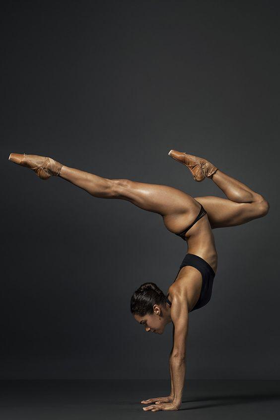 communified: Misty Copeland by Henry Leutwyler - Women Fitness Models #strength #yoga #handstands