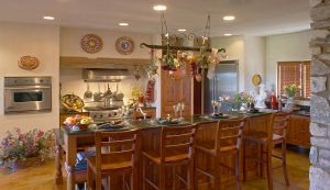 Luxurious tuscan style gourmet kitchen design austin texas rustic