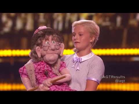 Darci Lynne Farmer Performs Seemingly Impossible Duet With Cowgirl Puppet Classic Country Music America S Got Talent Talent Contest America S Got Talent
