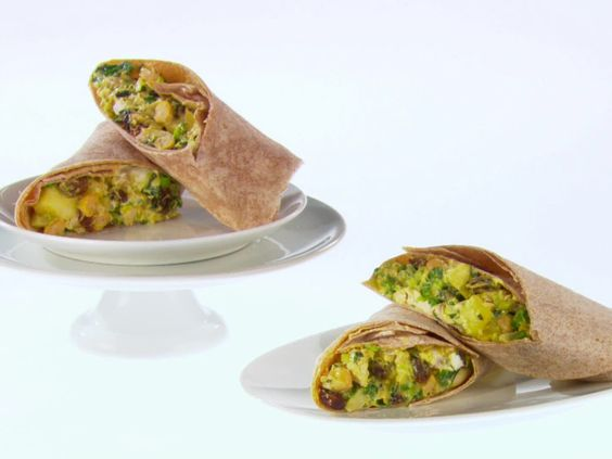 Curried Chicken and Apple Wraps recipe from Giada De Laurentiis via ...