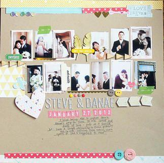 Steve & Danae by Caroline at Studio Calico