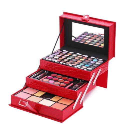 Makeup Kit Set Cosmetics Eyeshadow Palette Blush Concealer Lip Gloss Brush Gift Ebay In 2020 Makeup Kit Makeup Set Professional Makeup Set