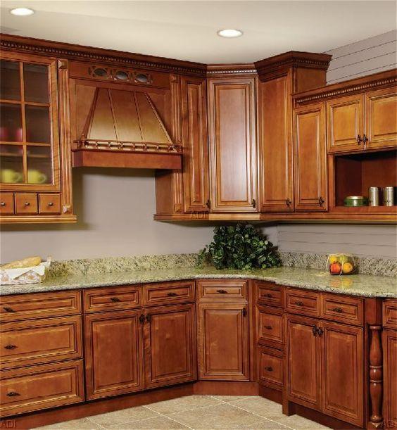 Rta Kitchen Cabinets Nj: An Impresssive SPICE CHERRY