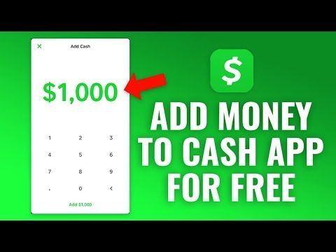 How To Add Money To Cash App For Free Youtube Money Generator Free Money Hack Hack Free Money
