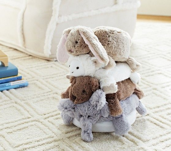 Small Animal Plush Stacker | Pottery Barn Kids