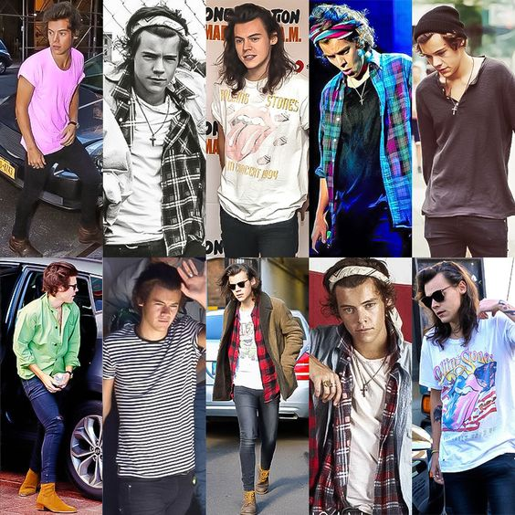 Harry Styles basic fashions