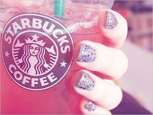 Starbucks & Sparkles :)