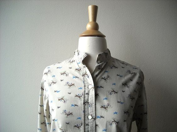Vintage Cowboy and Horse Shirt by Baxtervintage on Etsy, $26.00