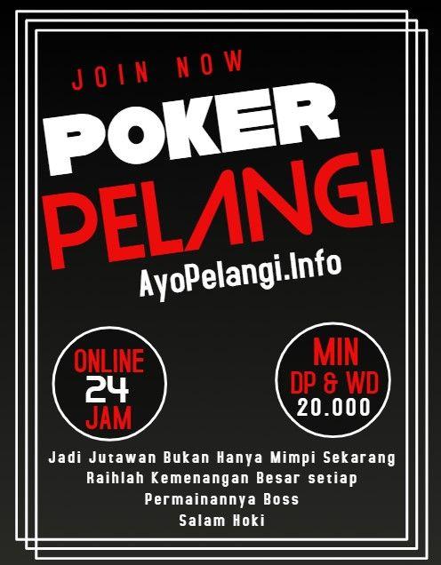 Pokerpelangi Dominoqq Domino99 Bandarq Capsa Susun Di 2020 Poker Hoki