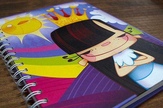 En nuestra tienda puedes conseguir estos divertidos cuadernos creados por Los Burundanga