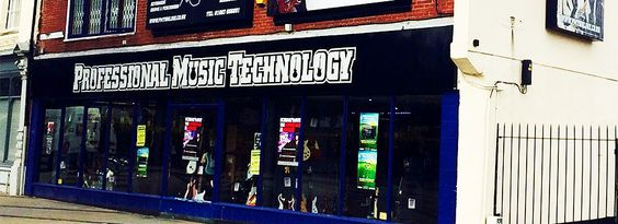 PMT Norwich music shop