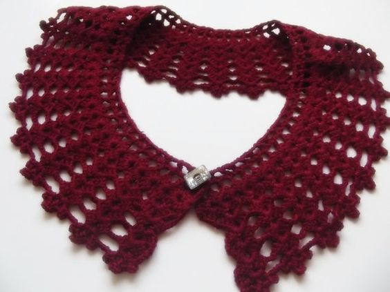 FREE SHIPPING detachable hand crochet peter pan by trendycollars, $19.90