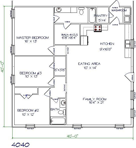 30 Barndominium Floor Plans for Different Purpose   Barndominium ...