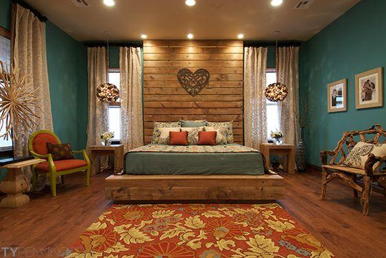 Nos encanta la decoración de esta habitación :)