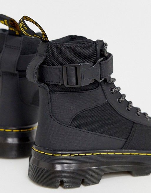Dr Martens Combs Tech tie boots in