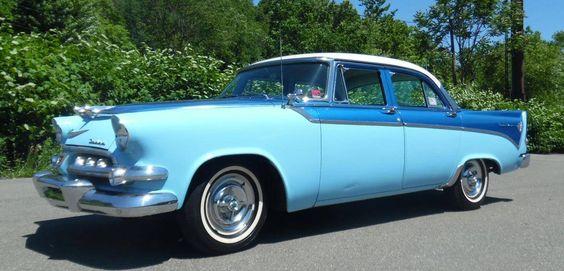 1956 Dodge Custom Royal Sedan Maintenance/restoration of old/vintage vehicles: the material for new cogs/casters/gears/pads could be cast polyamide which I (Cast polyamide) can produce. My contact: tatjana.alic@windowslive.com