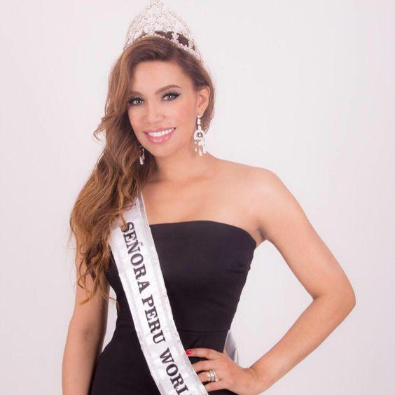 Karla Casos - Mrs World Peru 2016