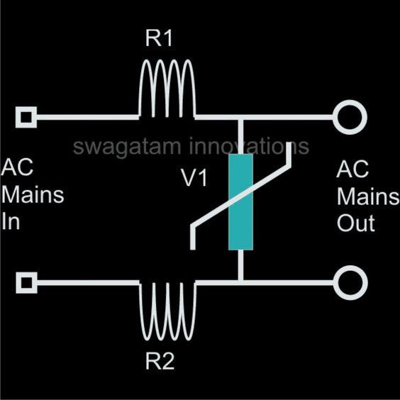 Ac 220v 120v Mains Surge Protector Circuits Circuito Electronica