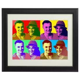 Personalisiertes Pop-Art Bild für Paare - Du suchst nach einem kreativen Liebesbeweis? Das Foto nach Pop Art-Style – das ideale Geschenk für Paare, die es bunt und mit Persönlichkeit mögen. via: www.monsterzeug.de