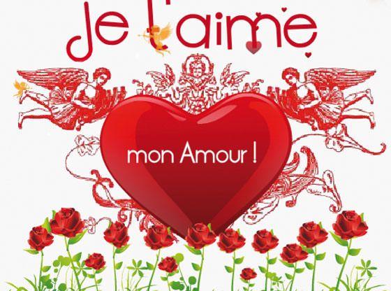 Carte Virtuelle Amour Gratuite Carte Virtuelle Amour Image Coeur Amour Image Bonjour Mon Amour