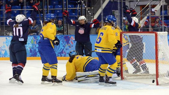 Another goal, and another celebration by the U.S., which outshot Sweden, 70-9.