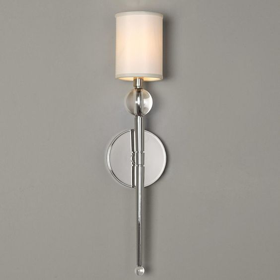 Pinterest the world s catalog of ideas for Crystal bathroom wall sconces