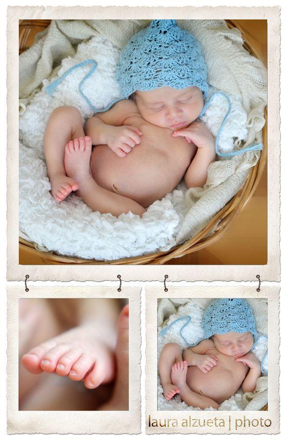 O pequeno baby recém-nascido