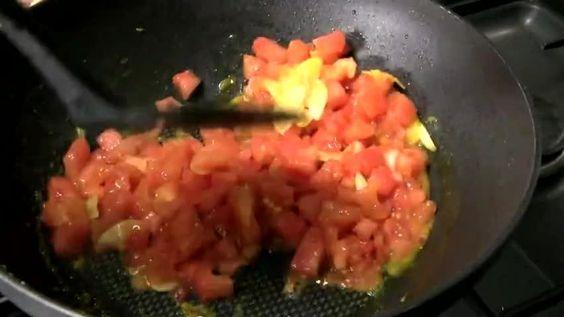 Recette thermomix: Pâtes sauce courgette et gambas au citron