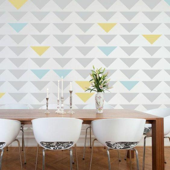 Wandgestaltung Wohn Und Esszimmer: Wohnidee im wohnzimmer ...