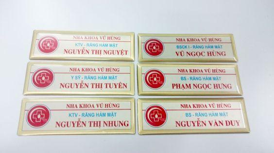 name tag nha khoa Vũ Hùng