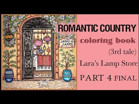 Prang Amore Youtube Romantic Country Coloring Book Pages Coloring Books